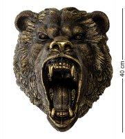 Бф-01 фигура голова медведя рычащего h-50см