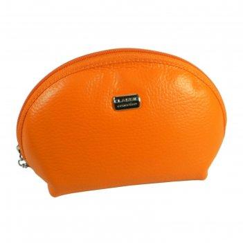 Косметичка f-91-330, 19*0,65*11,5,отд на молнии, оранжевый