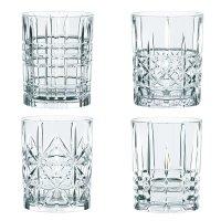 Набор из 4-х стаканов для виски, объем: 340 мл, материал: хрусталь, nachtm