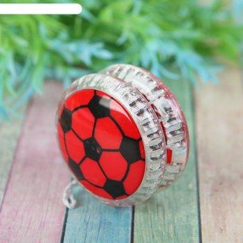 Йо-йо световой футбол, цвета микс