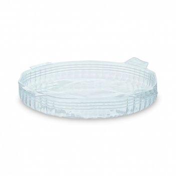 Крышка силиконовая coverflex, диаметр: 11 см, материал: силикон, цвет: бел