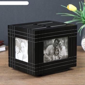 Фотоархив на 144 фото 10х15 см шахматка чёрная