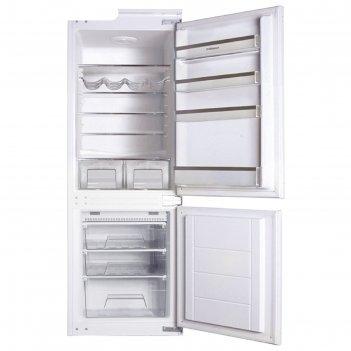 Холодильник hansa bk315.3f, 246 л, класс а+, no frost, антибактериальное п