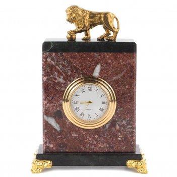 Часы лев креноид 85х45х125 мм 600 гр.