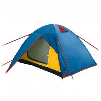Палатка arten walk, двухслойная, двухместная, цвет синий