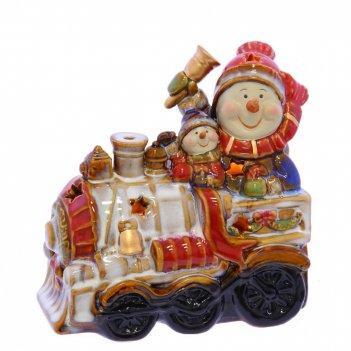 Фигурка декоративная поезд, l18 w10 h18 см