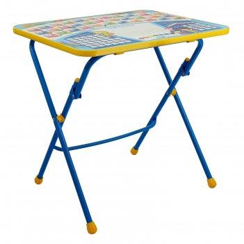 Детский стол от набора мебели никки складной, с рисунком, микс