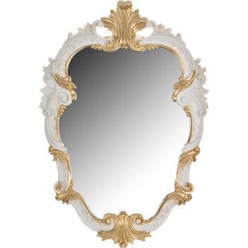 Зеркало высота=46 см. ширина=32 см.