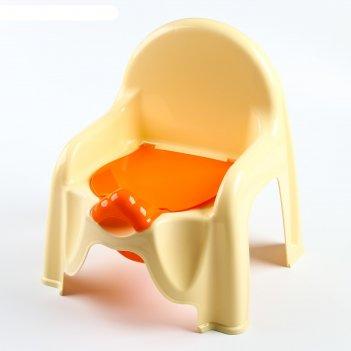 Горшок-стульчик, цвет желтый
