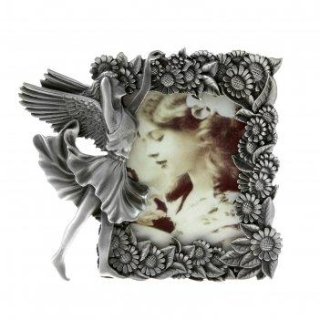 Фоторамка металл ангельские мечты 6х9 см