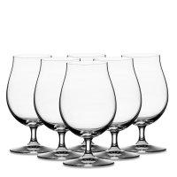 Набор из 6-ти бокалов для пива, объем: 440 мл, материал: хрустальное стекл