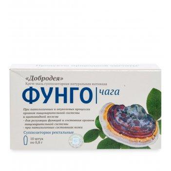Med-03/26 добродея фунго чага - крем-мазь натуральная нативная (в суппозит