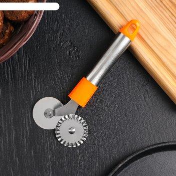 Нож для пиццы и теста 17,5 см арни, цвета микс