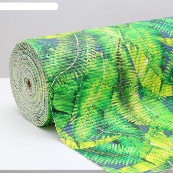 Коврик пвх «джунгли», 0,65x15 м