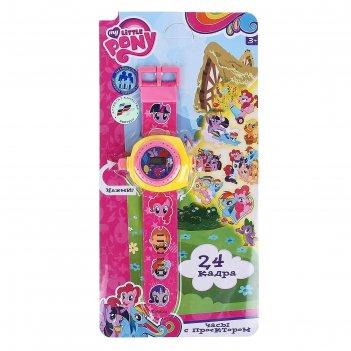 Часы детские my little pony  с проекцией на карт b1266129-r