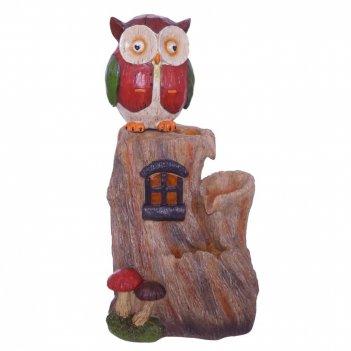 Фонтан декоративный сова, l29,5 w25 h58,5 см