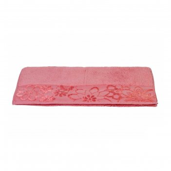 Полотенце dora, размер 30 x 50, розовый
