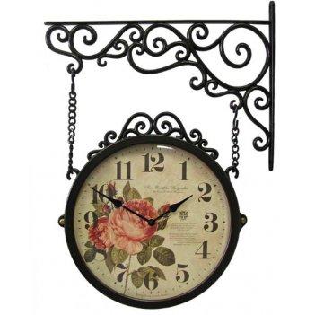 Настенные часы на подвесе b&s m250 br-f2