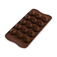 Форма для приготовления шоколадных конфет choco flame, размер: 24 х 11 см,