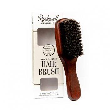 Щетка для бороды и волос rockwell, щетина кабана