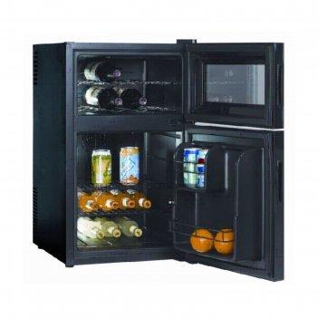 Винный шкаф gastrorag bcwh-68, 44 л, 8 бутылок х 0.75 л, 2 секции, +8 до +