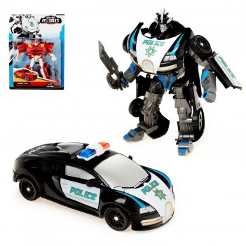 Робот-трансформер полицейский, микс