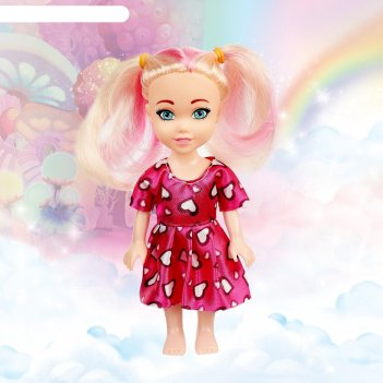 Кукла lollipop doll цветные волосы, микс в пакете