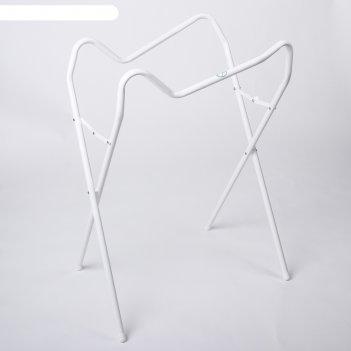 Подставка под ванночку универсальная 86-102 см., цвет белый