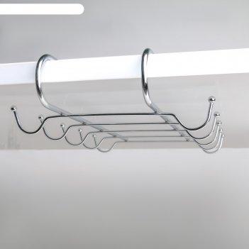 Держатель для кружек подвесной на 10 предметов 28х18,5х6 см