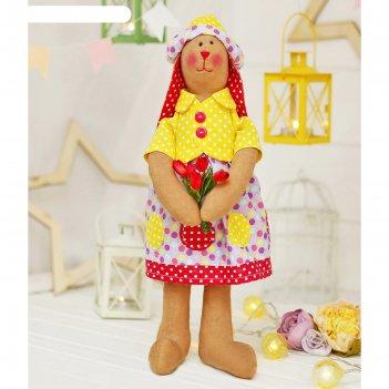 Набор для шитья текстильной игрушки зайка патриссия