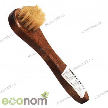 Щётка-намазок для обуви shoexpert, натуральный волос
