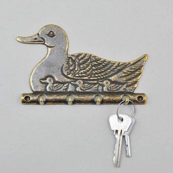 Ключница утка