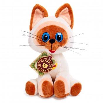 Мягкая музыкальная игрушка котёнок гав, 23 см