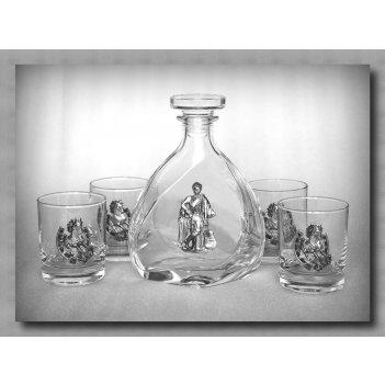 Набор для виски 310  гусарский. арт. ншт310гс-24