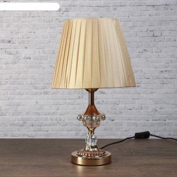 Лампа настольная е27 220в элегия низ с подсветкой 42х25х25 см