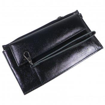 Клатч мужской h-35/02-327, 21,5*5*12,5,2 отд для купюр, для монет, для кар