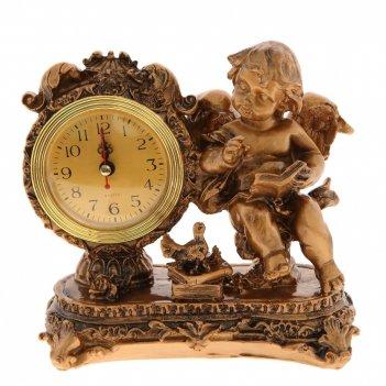 Часы настольные декоративные ангел, l18 w8 h18 см, (1хаа не прилаг.)