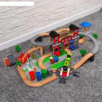 Железная дорога развязка с домом 139 деталей