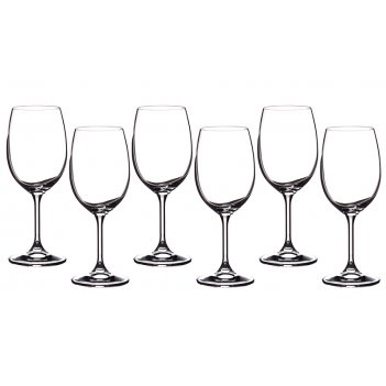 Набор бокалов для вина из 6 шт. клара 350 мл.