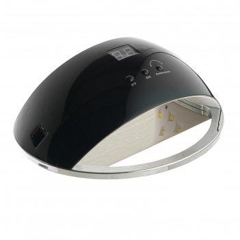 Лампа для гель-лака luazon luf-22, led, 48 вт, 220 в, 21 диод, таймер 30/6