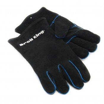 Кожаные перчатки broil king для сада