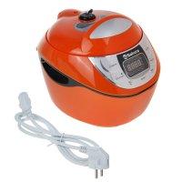 Мультиварка-скороварка sa-7758a premium, 900 вт, 12 режимов, 5 л, оранжева