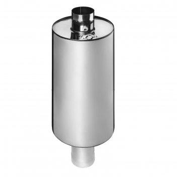Бак феррум комфорт самоварного типа, 72 л, нержавеющий (aisi 201/1,0 мм),