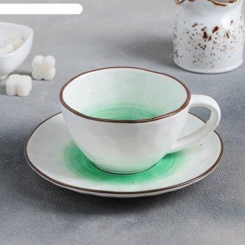 Чайная пара ио: чашка 250 мл, блюдце 16 см