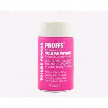 Пудра для волос proffs volume powder, 10 г