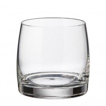Набор стаканов для виски crystalite bohemia pavo ideal 230 мл (6 шт)
