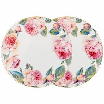 Набор тарелок обеденных винтаж 2пр. 25,5см (кор=12наб.)