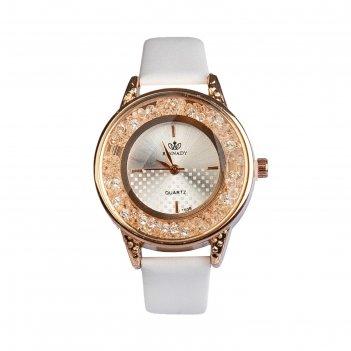 Часы наручные женские фелиция, циферблат d=3.2 см, микс,  золото