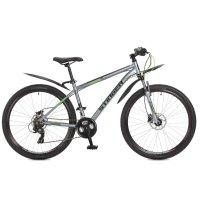 Велосипед 27,5 stinger grafite hd, 2017, цвет серый, размер 16