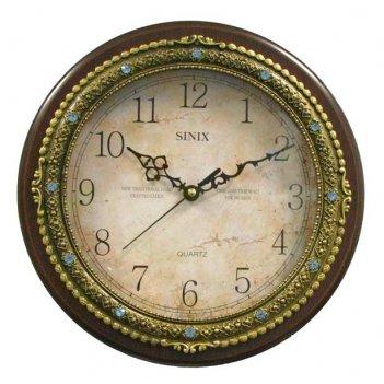 Часы настенные для дома sinix-1072